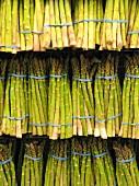 Asparagus at a market