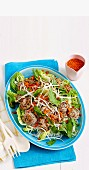 Vietnemese meatball salad