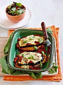 Chicken eggplant parmiagiana