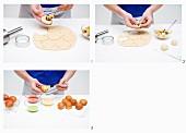 Bratapfelgebäck zubereiten