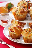 Peach and apricot muffins