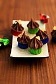 Schokoladen-Ingwer-Konfekt zu Weihnachten