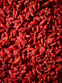 Dried goji berries (full frame)