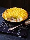 Lamb pie with a mashed potatoes topping