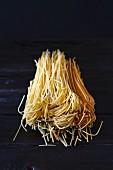 Colourful spaghetti