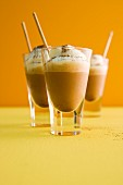 Cappuccino cocktails