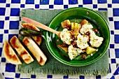Chalda Brouklou (cauliflower salad, Morocco)
