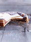 Schoko-Karamel-Kuchen