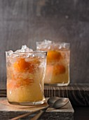 Bombay Crushed cocktails with gin and kumquats