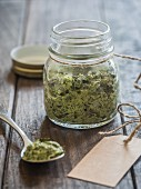 Vegan herb pesto