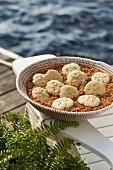 Sand Dollar Cookies (Traditionelles Rührteiggebäck, USA)