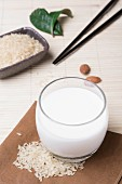 Rice milk for a Japanese breakfast