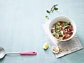 Vietnamesische Suppe mit Roastbeef (Low Carb)
