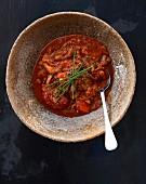 Ribolitta (Toskanische Gemüsesuppe, Italien)