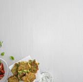 Italienische Brokkolipuffer (vegetarisch)