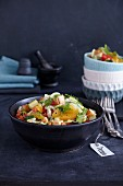 Halloumi and orange salad with fennel