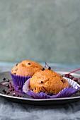 Elderberry muffins