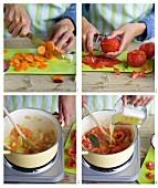 Schnelles Tomatensugo zubereiten
