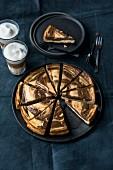 Latte macchiato cheesecake