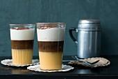 Coffee Advocaat mit Eierlikör