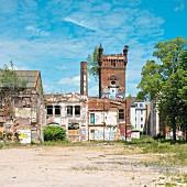 Old engineering works, Plagwitz, Leipzig, Germany