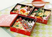 A Japanese box lunch