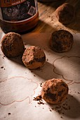 Bourbon chocolate truffles