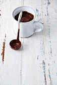Kahlúa chocolate sauce