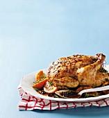 Fruity roast chicken