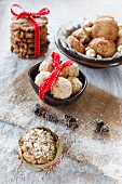 Oat-based Christmas cakes and biscuits including muffins, scones and oat bites