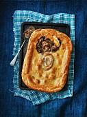 Meat Pie (Fleisch-Pastete, England)