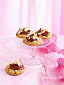 Chocolatey splodge cookies