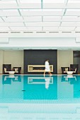 The pool at Hotel Severin's Resort & Spa in Keitum on Sylt, Germany