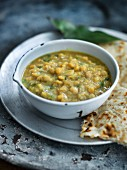 Dhal and chapatis
