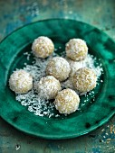Coconut barfi (Indian sweets)