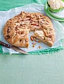 Crostata mit Birnen, Äpfeln & Mandeln