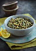 Dhal with green beans (India)