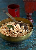 Pilau rice with spices