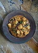 Indian potato curry