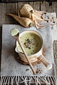 Bowl of Apple Parsnip Soup