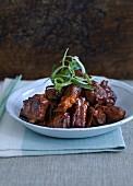 Glazed pork ribs (China)