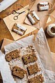 Homemade amaranth bars