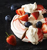 Eton Mess with berries