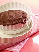 A mini microwave cake