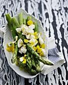 Flemish-style white asparagus