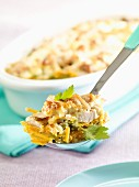 Spring vegetable bake with turkey