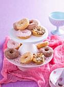 Mixed mini doughnuts