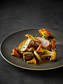 Veal fillet with wild mushrooms