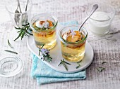 Rosemary and apple jelly