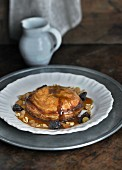 Pheasant and dried fruit pithivier